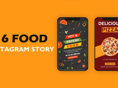 Food Instagram Story Pack 31122293 Free Download After Effects Project