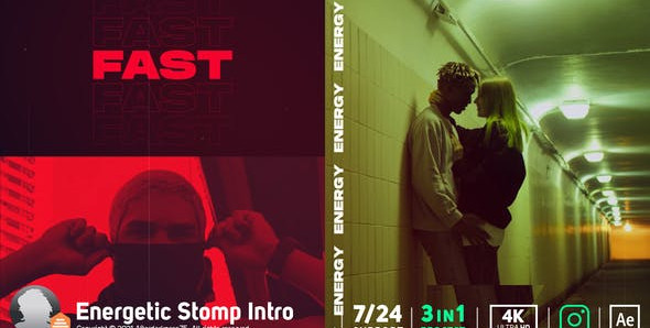 Stomp Intro 29060190 Videohive – Download After Effects Template
