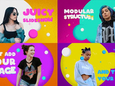 VIDEOHIVE COLORFUL SLIDESHOW | AFTER EFFECTS