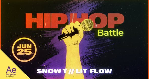Hip Hop Battle 32002860 Videohive – Download After Effects Template