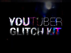 YouTuber Kit | Glitch 20216462 Videohive – Download After Effects Template