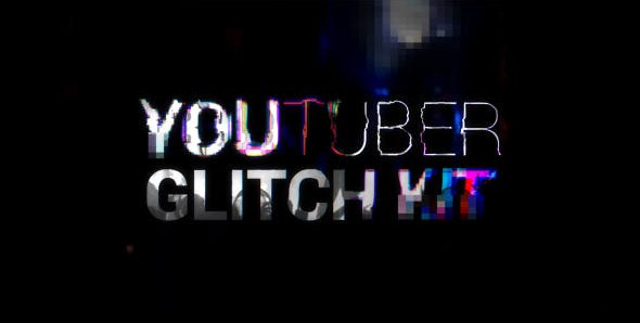 YouTuber Kit   Glitch 20216462 Videohive – Download After Effects Template