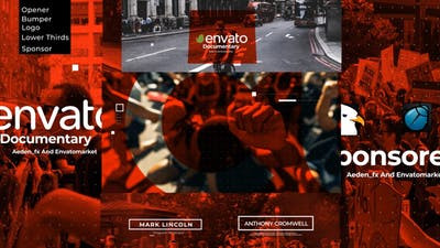 Intro Documentary Pack 28874645 - Download After Effect Template