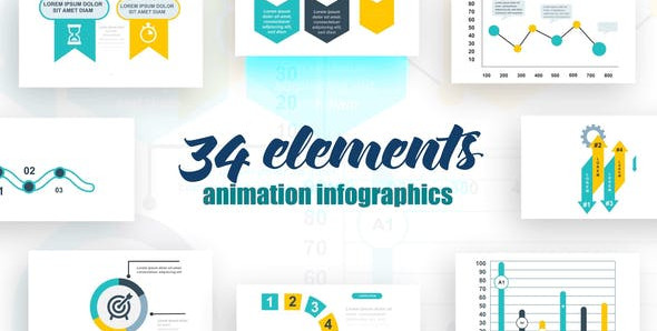 Infographics vol.16 25615690 Videohive – Free Download After Effects Templates