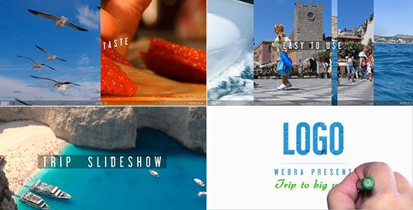 Fast Trip Slideshow 10946598 Free Download After Effects Project