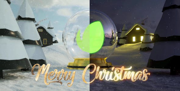 Christmas Logo Intro 25107889 Videohive – Free Download After Effects Templates