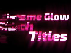 VIDEOHIVE EXTREME GLOW – GLITCH TITLES