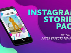 100 Instagram Stories 22853026 Videohive – Free Download After Effects Templates