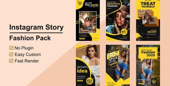 VIDEOHIVE FASHION INSTAGRAM STORIES V05