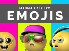 100 Classic And New Emojis 29840105 Videohive – Free Download Motion Graphic