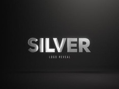 VIDEOHIVE SILVER LOGO REVEAL (3 VERSIONS)