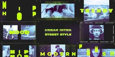 Street Style – Urban Fast Intro 30285325 Free Download After Effects Project