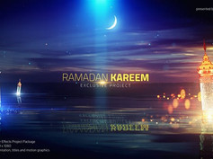 Ramadan Kareem Lake View Title 26488838 Free Download After Effects Projects