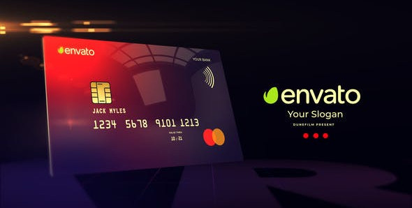 Credit Card Mockup 30128836 Free Download After Effects Project