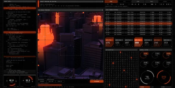 Technodrome HUD UI Pack 26575734 Videohive – Download After Effects Template