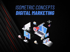 Digital Marketing – Isometric Concept 31223548 Free Download After Effects Project