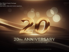Anniversary Opener 32029920 Videohive – Download After Effects Template