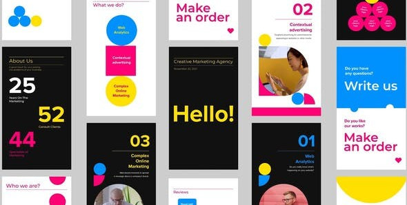 Marketing Agency Promo Stories Pack 30290178 Videohive – Download After Effects Template