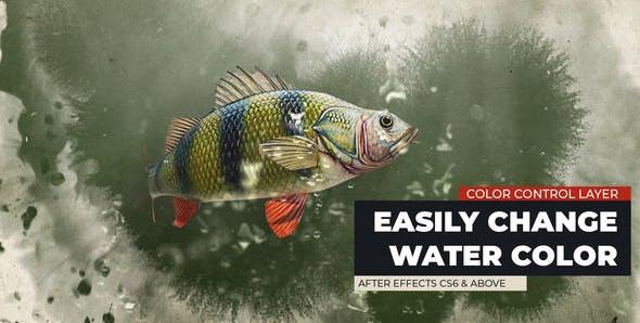VIDEOHIVE FISH LOGO REVEAL