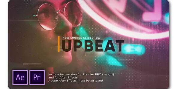 Upbeat Lounge Opener Slideshow 32062625 Free Download After Effects Project