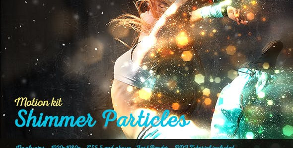 Shimmer Particles Motion Kit 19044846 Free Download After Effects Project