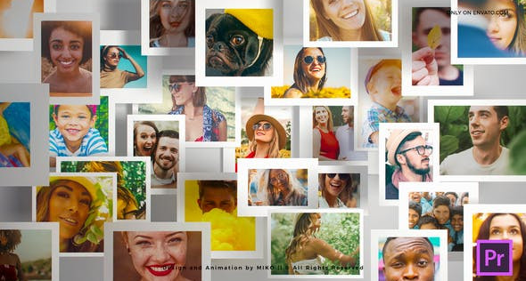 Multi Photo Frames Logo Opener 31858602 Free Download After Effects Project