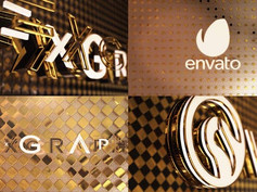 Black&White Gold Logo Opener 24000531 Videohive – Download After Effects Template