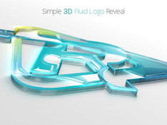 Simple 3D Fluid Logo Reveal 28796975 Videohive – Download After Effects Template