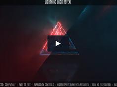 VIDEOHIVE LIGHTNING LOGO REVEAL 27483938
