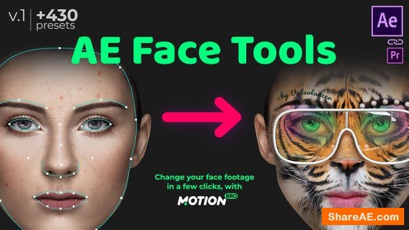 Videohive AE Face Tools