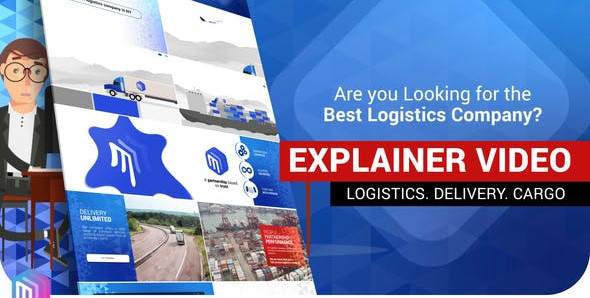 VIDEOHIVE EXPLAINER VIDEO   LOGISTICS SERVICES. DELIVERY