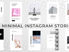 Minimal Instagram Stories 30175852 Free Download After Effects Project