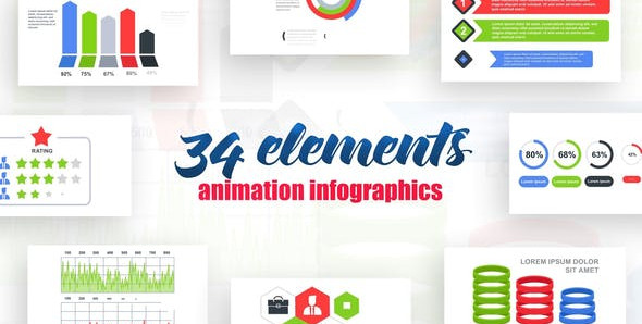 Infographics vol.13 25593808 Videohive – Free Download After Effects Templates