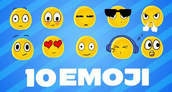 Emoji 32352236 Videohive - Free Download After Effects Template