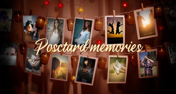 Hanging Postcards Slideshow 31757793 Videohive – Download After Effects Template