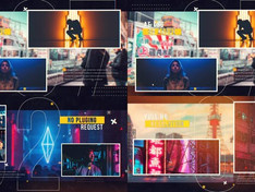 Dynamic Glitch Slideshow 31196749 Free Download After Effects Project