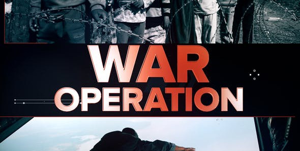War Operation 24736993 Free Download After Effects Project