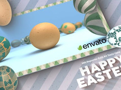 Happy Easter Logo 31447104 Free Download After Effects Project