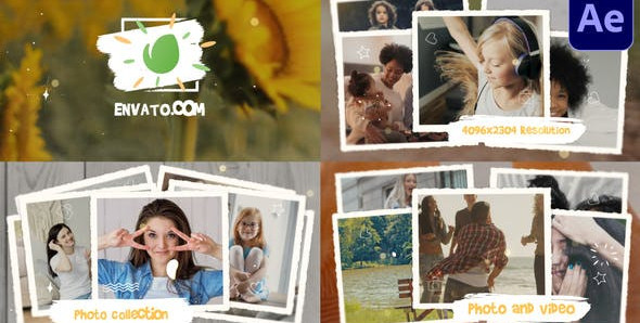 Photo Collection Slideshow – After Effects 31136674 Free Download After Effects Project