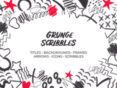 Grunge Scribbles. Hand Drawn Pack 32553670 Videohive – Download After Effects Template