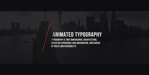 Title Intro Animation 24730265 Videohive – Download After Effects Template