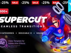 VIDEOHIVE TRANSITIONS SUPERCUT V1.1