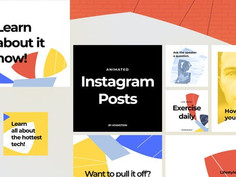 Instagram Posts – Dynamic Puzzle 25229469 Videohive – Download After Effects Templates