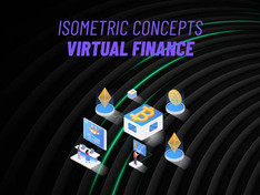 Virtual Finance – Isometric Concept 31223605 Free Download After Effects Project