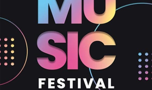 Free Music Festival Flyer PSD Template
