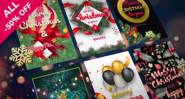 VIDEOHIVE CHRISTMAS INSTAGRAM STORIES 25333544