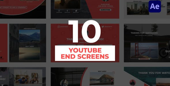 YouTube End Screens 31847986 Free Download After Effects Project
