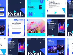 Event promo post instagram 31729092 Free Download After Effects Project