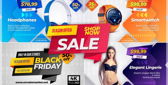 Sale Promo 23337412 Videohive – Download After Effects Template
