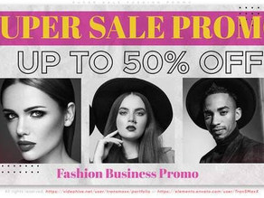 Super Sale Fashion Promo 32462295 Free Download After Effects Project